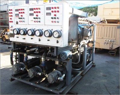 5000 PSI Hydraulic Power Unit with Digital Readouts
