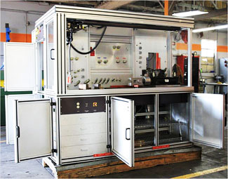 TSH-F18-101 Universal Linear and Rotary Actuator Test Stand