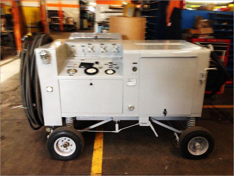 Hydraulic Portable Mule Muh 112 Test Stand Custom